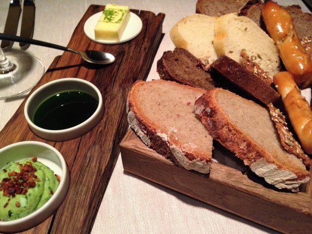 Brot, Butter, Öl