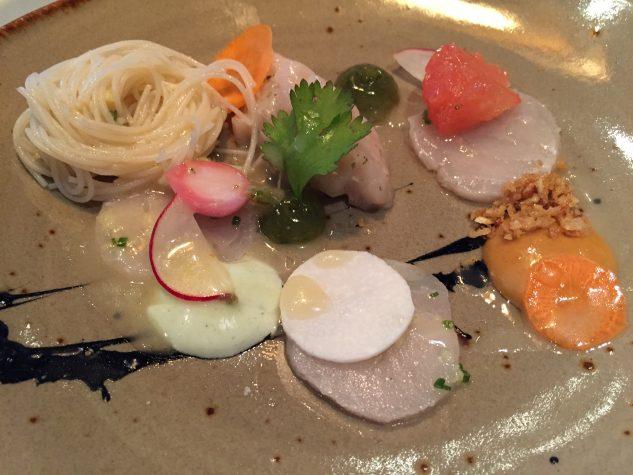 Swordfish / Gado Gado / coconut / peanut