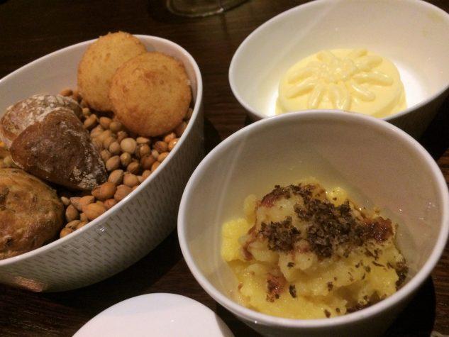 Brot & Kartoffelstampf