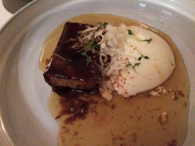Iberico Schwein / Parmesan / Rucola