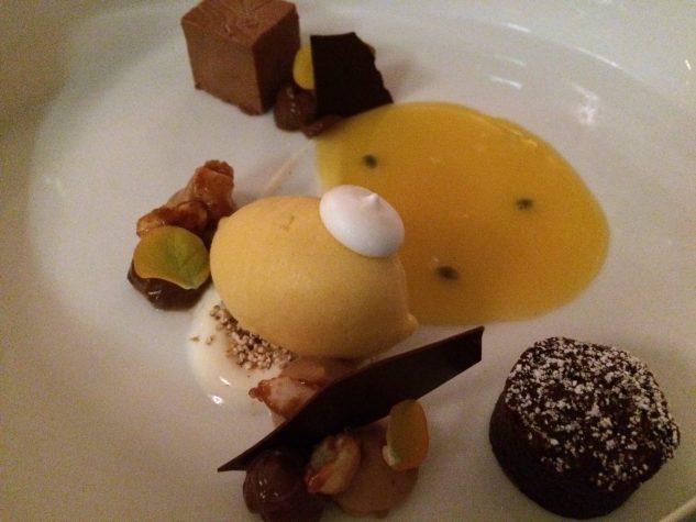 Belgische Schokolade/Erdnuss / Passionsfrucht