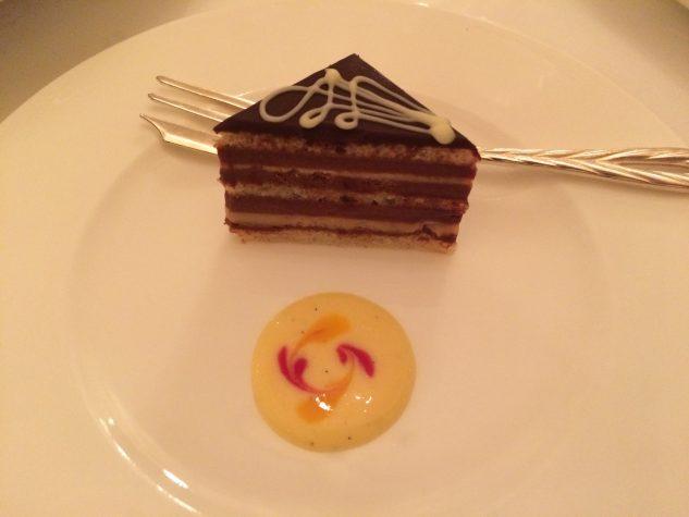 Das abschließende Stück Kuchen