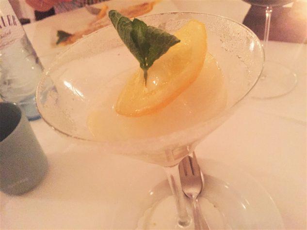 Blue Gin Fizz Sorbet