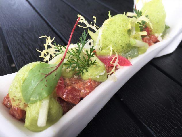 Kalbstatar / Avocado / Gurke / grüner Apfel