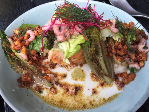 Kartoffel & Rauchfisch / Kopfsalat / Fenchel / Ayran