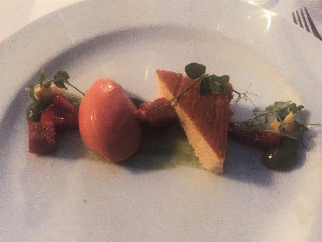 Erdbeeren, Erbsen und Minze