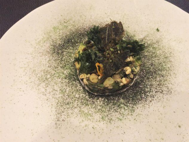 Avocado Tartar / Escamoles / Kaviar