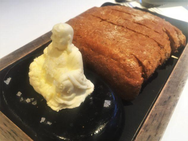 """Buddha Brot"" - Holzofenbrot, Meersalz-Stein-Butter"