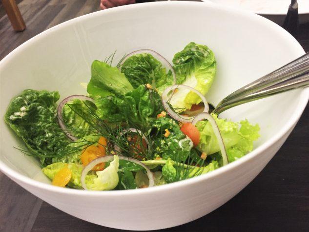 Salat zum Teilen