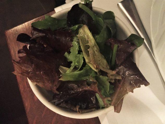 ...dazu Grüner Salat