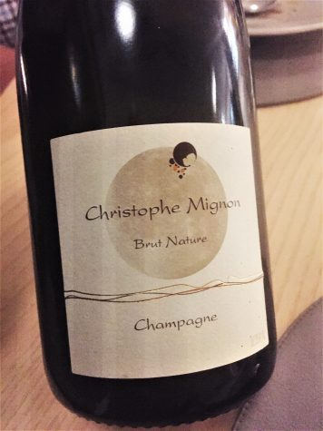 Champagne Pur Meunier, Brut Nature, Christophe Mignon