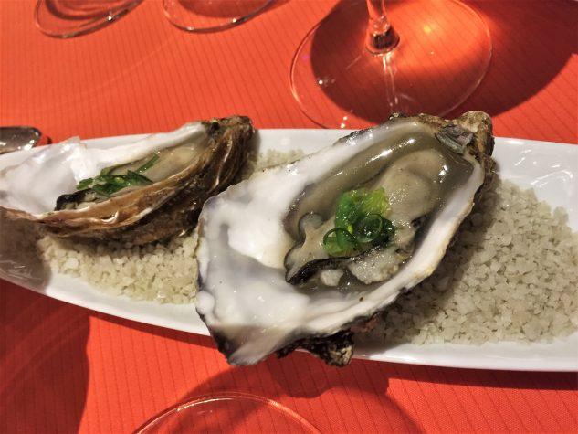 Amuse Bouche: Pochierte Auster
