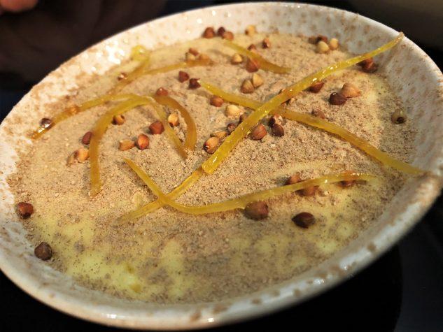 Buttercreme, Buchweizen, Zitronenzeste