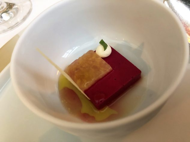 Rote Bete, Rose, Ananas, Buttermilch