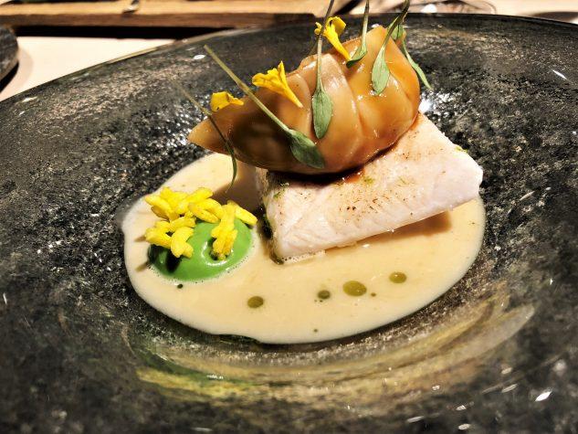 Hiramasa Kingfish Thaicurry, Galgant, Kokos, Tamarinde & Garnelen Dim Sum