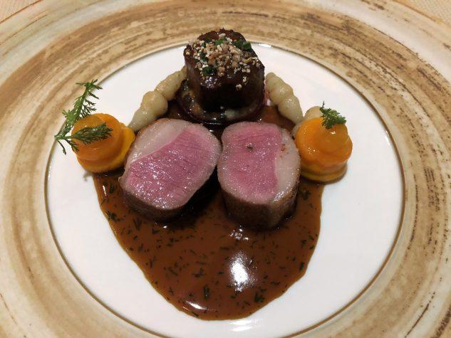 Limousin-Lamm mit Garam Masala, Aprikose & Kürbis