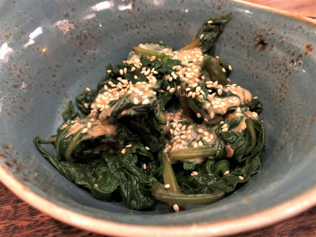 Gomaae - Spinat mit Sesamdressing