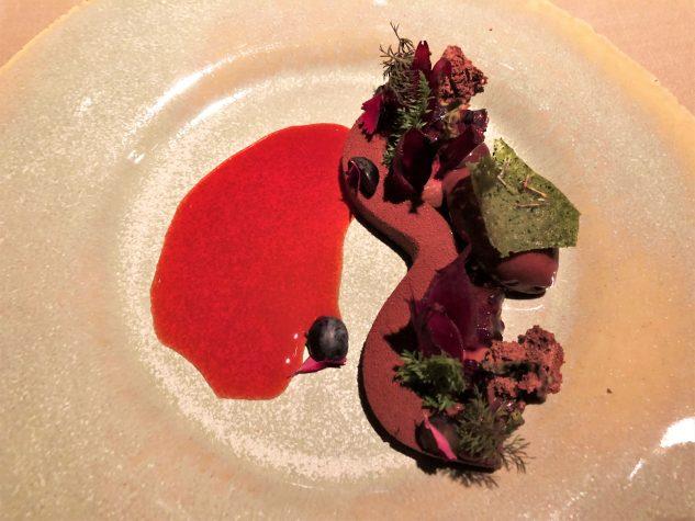 Schokolade Cru Virunga - Schlehe - Rote Bete - Kräutertee