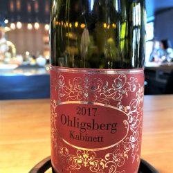 "2017 Riesling Kabinett ""Ohligsberg"", Julian Haart, Mosel, Deutschland"