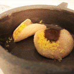 Salzig - Zwiebel BBQ / gebeiztes Eigelb