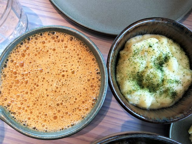 ...Hummer-Béarnaise, Kartoffelpüree