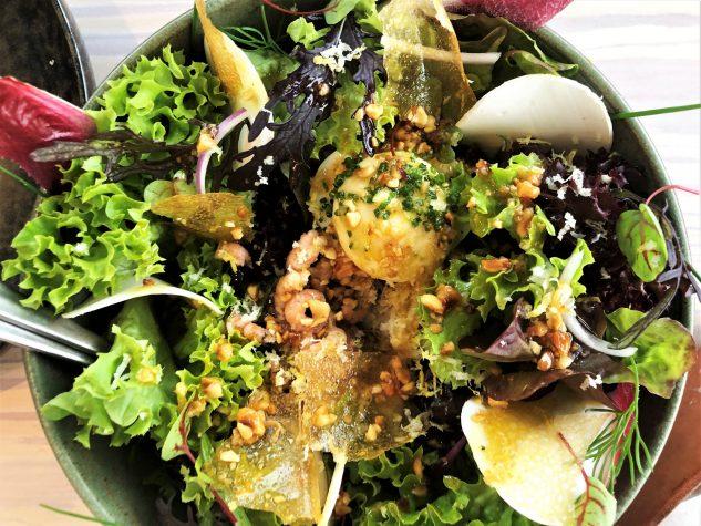 """Salat """"AIRrepublic"""", Nordseekrabben"""