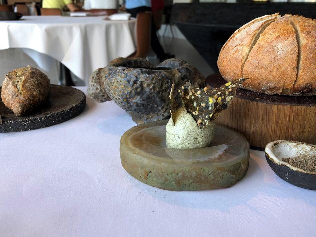 Brot, Algenbrötchen und -butter
