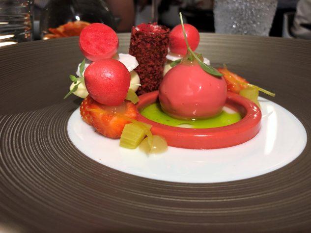 Erdbeere - Rhabarber - Whiskey - Vanille - Zitrone - Rosmarin