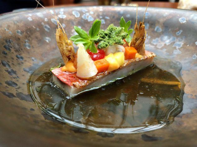 Rotbarbe, Shrimps, Waldmeister