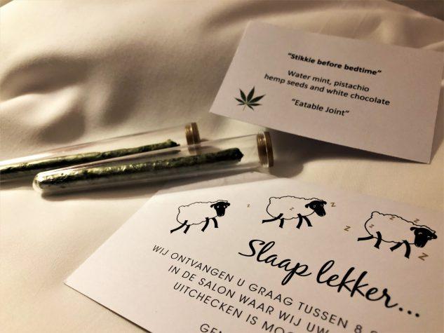 Gute Nacht Gruß: Essbarer Joint