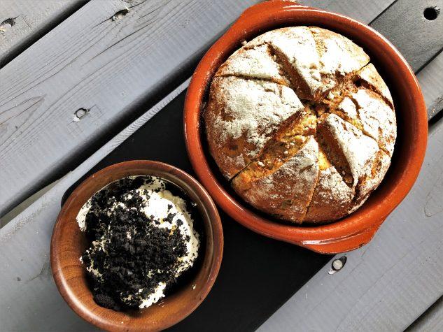 Brot, Butter, Olivenerde