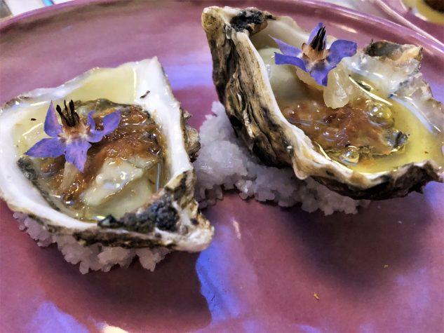 Auster, Knoblauchbutter