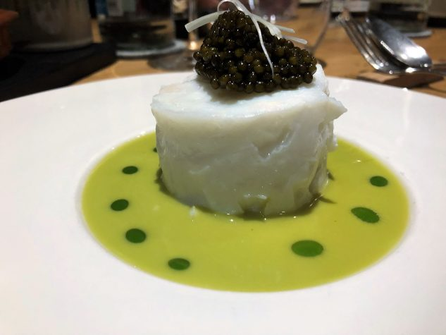 Heilbutt / Lauch / Imperialkaviar