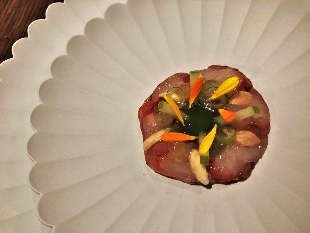 Roter Gamberoni [Portugal] | Japanischer Shishitopepper | Räuchermandel | Zitrus