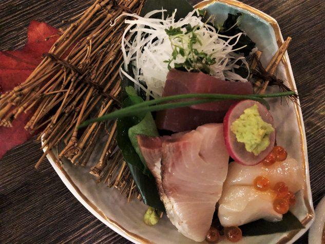 Sashimi vom Tagesfisch
