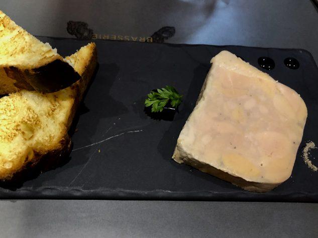 Foie Gras von der Ente, warmes Brioche