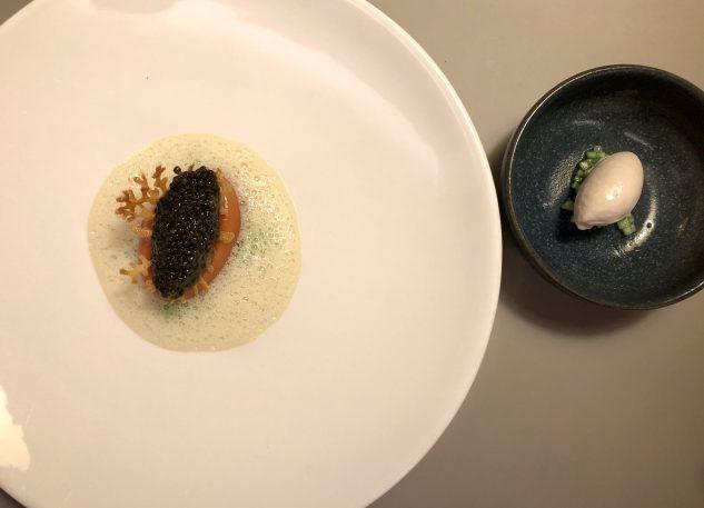 Sellerie & Kaviar / Beurre Blanc / Granny Smith
