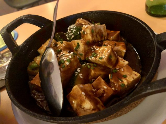 Mapo Tofu / Szechuan Pfeffer / scharfe Bohnensauce