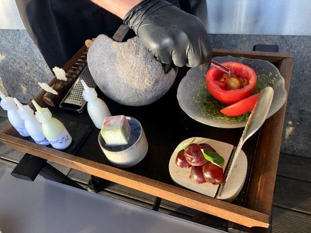 Zubereitung Cesar's Salad