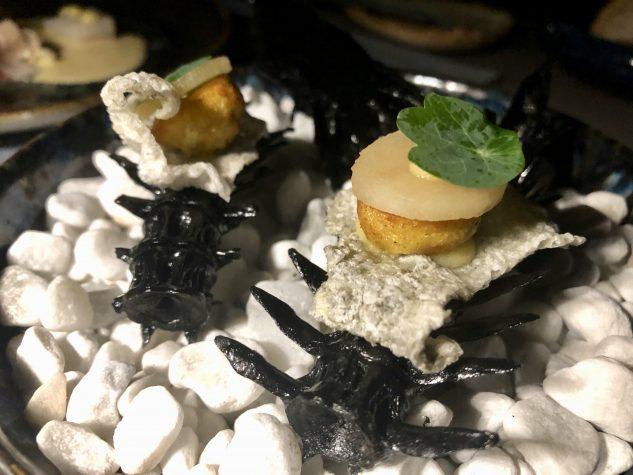 Zanderhaut / Fischkuchen